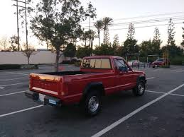 1989 Jeep Comanche 2.5L - 4 cylinder pickup truck for Sale, Lynwood ...