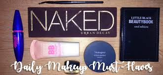 my january favorites had a great response so i wanted to continue the beauty trend this week and bring you my daily makeup must haves