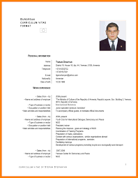 Standard Resume Format Doc Download Resume Format Write The Best
