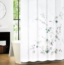 Floral Shower Curtain | Modern Shower Curtains | Floral Fabric Shower  Curtain
