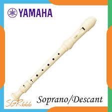 Cara bermain alat musik recorder terbaru. Suling Recorder Yamaha Soprano Sopran Descant Original Yrs 23 Shopee Indonesia