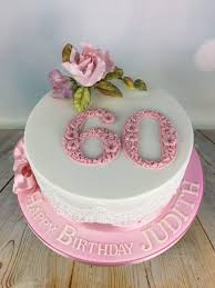 Pink Roses 60th Birthday Cake Mels Amazing Cakes