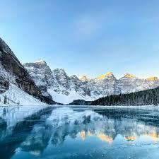Desktop wallpaper moraine lake, nature ...
