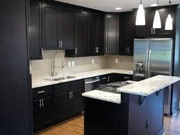 kitchen countertops quartz with dark cabinets. Residence Dark Cabinets White Countertops Backsplash Popular Granite . Black  And Kitchen Grey Wall Island Quartz With W