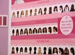 American Girl Dolls Hair Style Chart To Choose A Do For