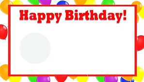Birthday Cards Templates Word Happy Birthday Presentation Wishes Slides Template Invitation Cards
