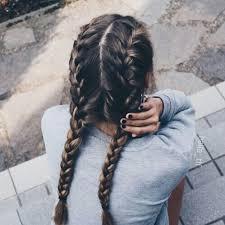 French Braided Pigtails Hair Hair Styles Hair Long Hair Styles