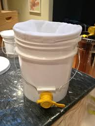 5 gallon bucket with spigot.  Spigot Have A 5 Gallon Bucket Ready With Nylon Strainer Placed Inside You Can On Gallon Bucket With Spigot