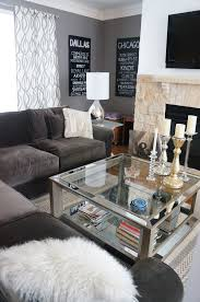 Glass Coffee Table   Living Room West Elm Decorate Shiny