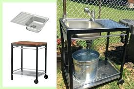 outdoor sink outdoor sink a perfect summer project outdoor sink