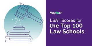 Lsat Scores For The Top 100 Law Schools Good Lsat Scores