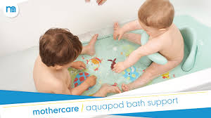 aquapod baby bath support mothercare