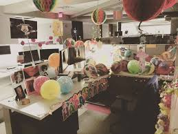 office birthday decorations. some of us take birthday decorations to the next level. - kasasa united states office