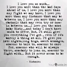 I Love You So Much I L Quotes Writings By Ishanku Borah