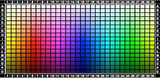 Uplighting Color Chart Uplighting Color Selector Portland Wedding Lights