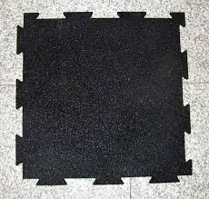 gym rubber flooring drainage rubber tile