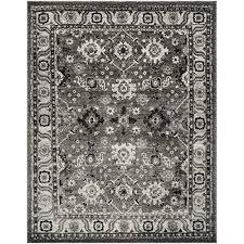 safavieh vintage hamadan collection vth214k grey and black area rug 8 x 10