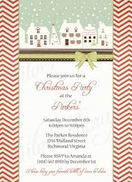 Party On Designs Etsy Vintage Holiday Houses Custom Digital Christmas Party