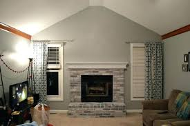 painted brick fireplace colors fireplace paint ideas painted brick fireplace ideas what color should i paint painted brick fireplace colors