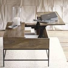 Coffee table that raises