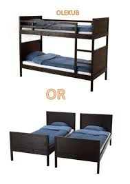 ikea bed frames uk inspirational ikea norddal bunk bed frame black brown size twin children