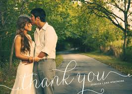 101 best wedding thank you cards images on pinterest wedding Custom Photo Thank You Cards Wedding wedding thank you photo card \