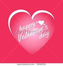 Day Cards To Print Happy Valentines Day Card Good Greeting Stock Vector 2018
