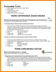 stunning personality traits for resume contemporary simple