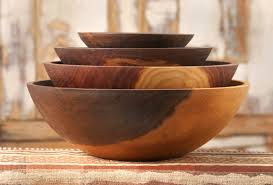 wooden mixing bowls designs
