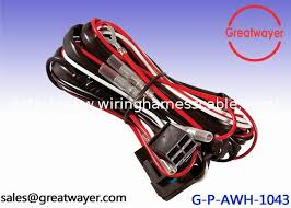 awg amp fuse wiring harness for motorcycles pin connector 18awg 20amp fuse wiring harness for motorcycles 4 pin connector protect tube
