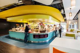 latest google office images google tel aviv cafeteria