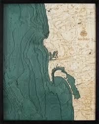 West Galveston Bay Depth Chart San Diego Depth Chart San Diego Nautical Map Art Tattoo