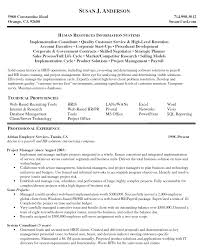 Sample Project Manager Resume Example Human Resources Information