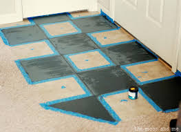 paint for tile floorsThe Moon and Me Painting a Tile Floor  Tips and Grumbles