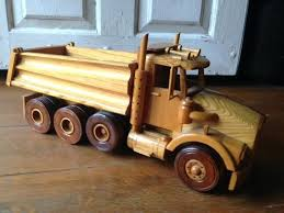 wooden truck toy woodworking plans trucks and toys dump box
