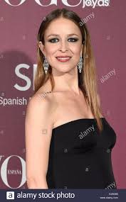 madrid spain 23rd november 2017 actress silvia abascal during the 13th edition