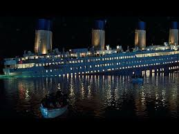 that sinking feeling life of pi vs titanic  ship sinks when it hits an iceberg in the atlantic ocean
