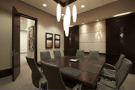 office meeting room design. Office:Exclusive Design Office Meeting Room Decor With Square Wooden Table And Chrome Legs W