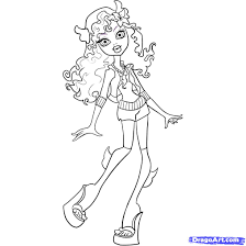 Coloring Pages Monster High Coloring Pages