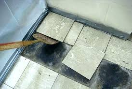 remove vinyl flooring how to remove vinyl floor tiles from concrete tile removal of charming on