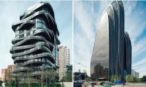 a blending of nature and chinese tradition into modern architecture my own words yet looks more like gotham city to me regardless itu0027s still cool cool c6 architecture