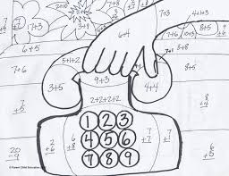 Small Picture Math Coloring Pages For 2nd Graders Coloring Pages