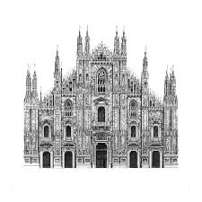Architecture building drawing Beginner Milan Cathedral Buildipediacom Design Is In The Details My Photorealistic Drawings Of Famous
