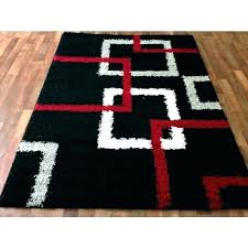 black and gold area rugs red cream rug