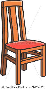 dining chair clipart. dining room chair vector cartoon - csp32204626 clipart l