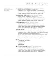 Resume Template In Microsoft Word Free Resume Templates Word Free ...