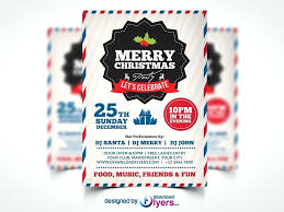 Christmas Party Flyer Templates Microsoft Christmas Party Flyer Template Troubleloves