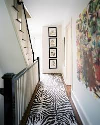 interesting animal print runner rug 12 modern hallway runner rug designs rilane