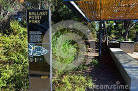 Ballast Point Park Ballast Point Park Birchgrove Sydney Editorial Photo Image
