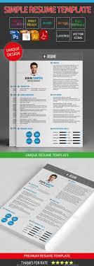 Best 25 Simple Resume Ideas On Pinterest Resume Simple Resume